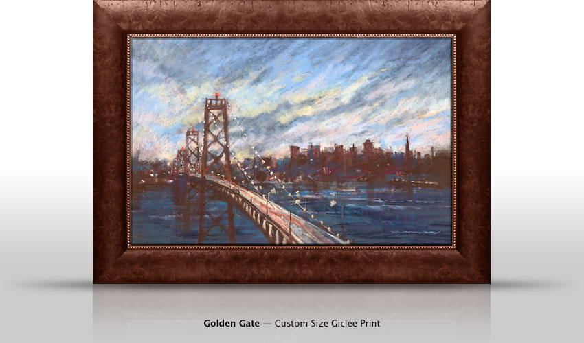 Golden Gate Bridge Painting